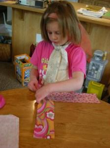 sarah pinning fabric