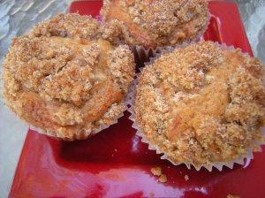 struesel muffins