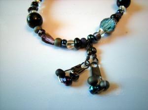 black & blue bracelet