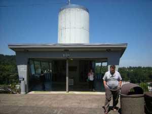 Jeff outside top of OC Elevator